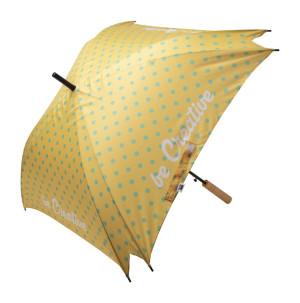 CreaRain Square RPET individueller Regenschirm