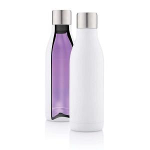 Vakuum Stainless Steel Flasche mit UV-C Sterilisator, weiß