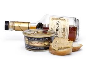 Entenstopfleber mit einem Tropfen Cognac