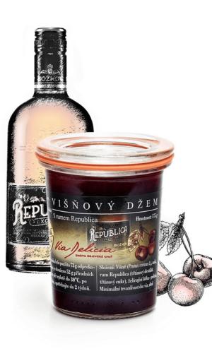 Kirschmarmelade mit Republica Rum