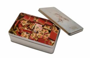 Plechová krabička – velký obdélník - sušenky