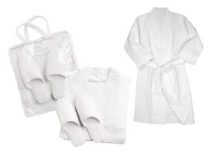 White Badezimmer-Set