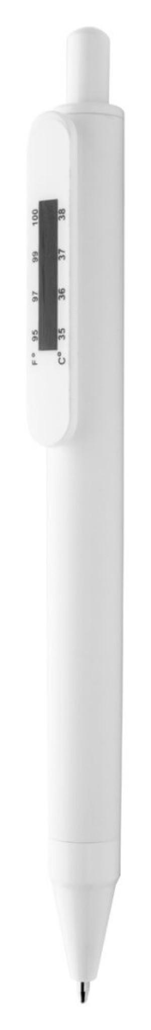 kuličkové pero s teploměrem