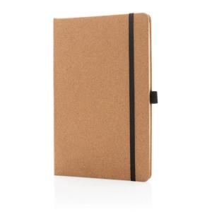 Kork Hardcover Notizbuch A5, braun
