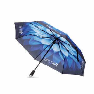 "MU2005 - 21"" 3 fold umbrella with clip handle"
