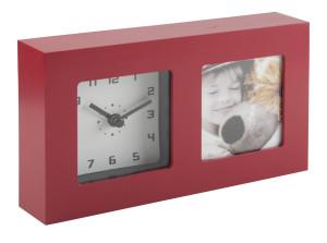 stolní hodiny s rámečkem na fotku