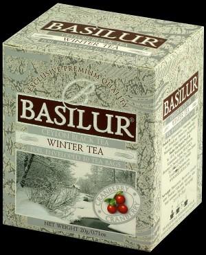 Čierny čaj BASILUR Four Season Winter Tea, sáčky 10x2g