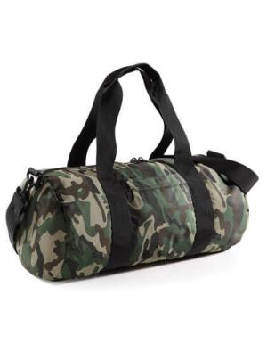 BG173 Camo Barrel Bag