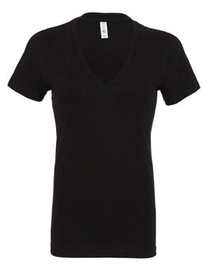 BL6035 Women´s Jersey Deep V-Neck T-Shirt