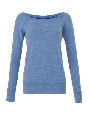 BL7501 Women's Sponge Fleece Wide Neck Sweatshirt