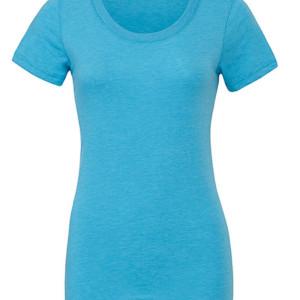 BL8413 Triblend Crew Neck T-Shirt Woman