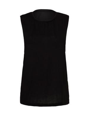 BL8803 Women's Flowy Scoop Muscle T-Shirt
