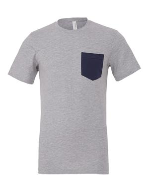 CV3021 Men´s Jersey Short Sleeve Pocket Tee