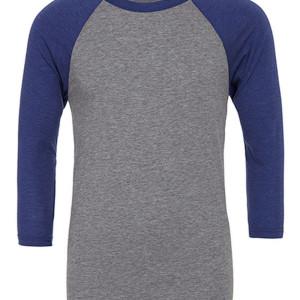 CV3200 Unisex 3 / 4 Sleeve Baseball T-Shirt