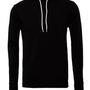 CV3719 Unisex Pullover Poly-Cotton Fleece Hoodie