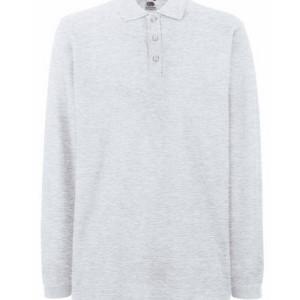 F541N Premium Long Sleeve Polo
