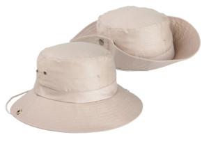 Safari bavlnený klobúk