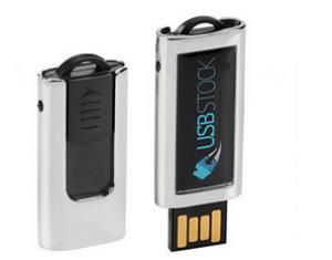 USB-Schlüssel PDslim-40 - Residenter Aufkleber