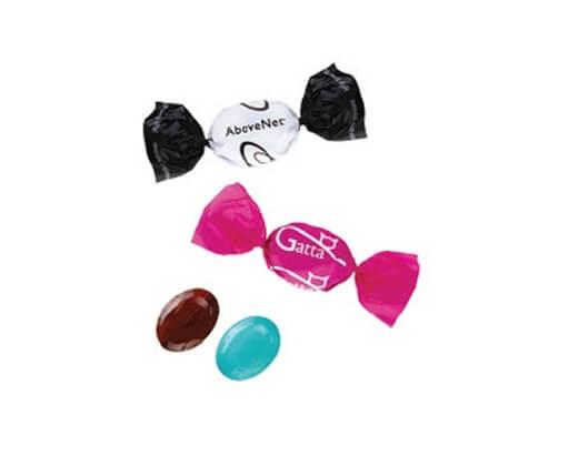 Candy mit dem Druck der Verpackung