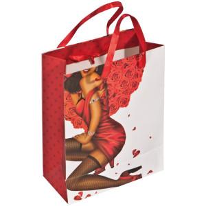 Darčeková taška  s kameňmi