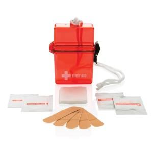 Wasserfestes Erste-Hilfe-Set, rot