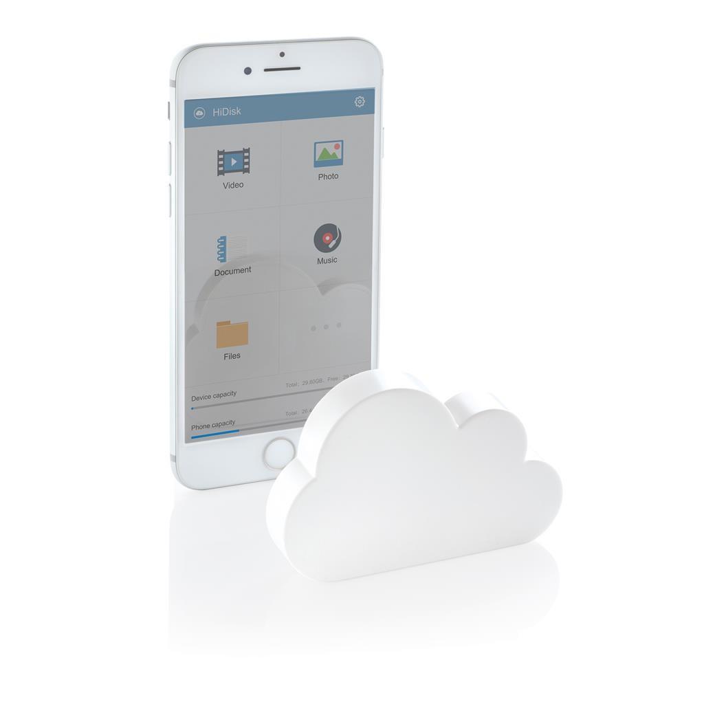 Pocket-Cloud kabelloser Speicher, weiß