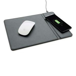Mousepad mit Wireless-5W-Charging Funktion, schwarz