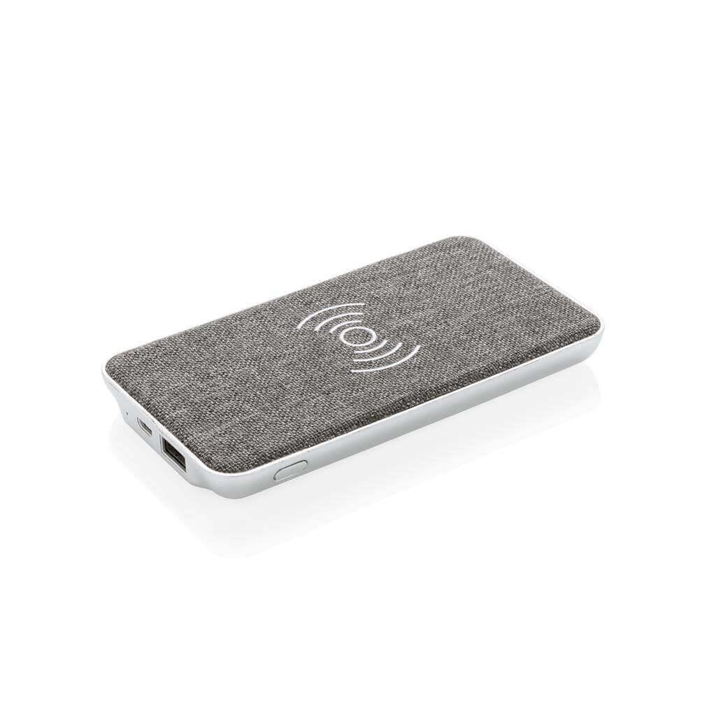Vogue 5W Wireless Powerbank, schwarz