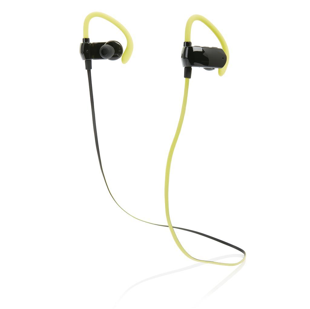 Kabelloser wireless Sport Ohrhörer, schwarz