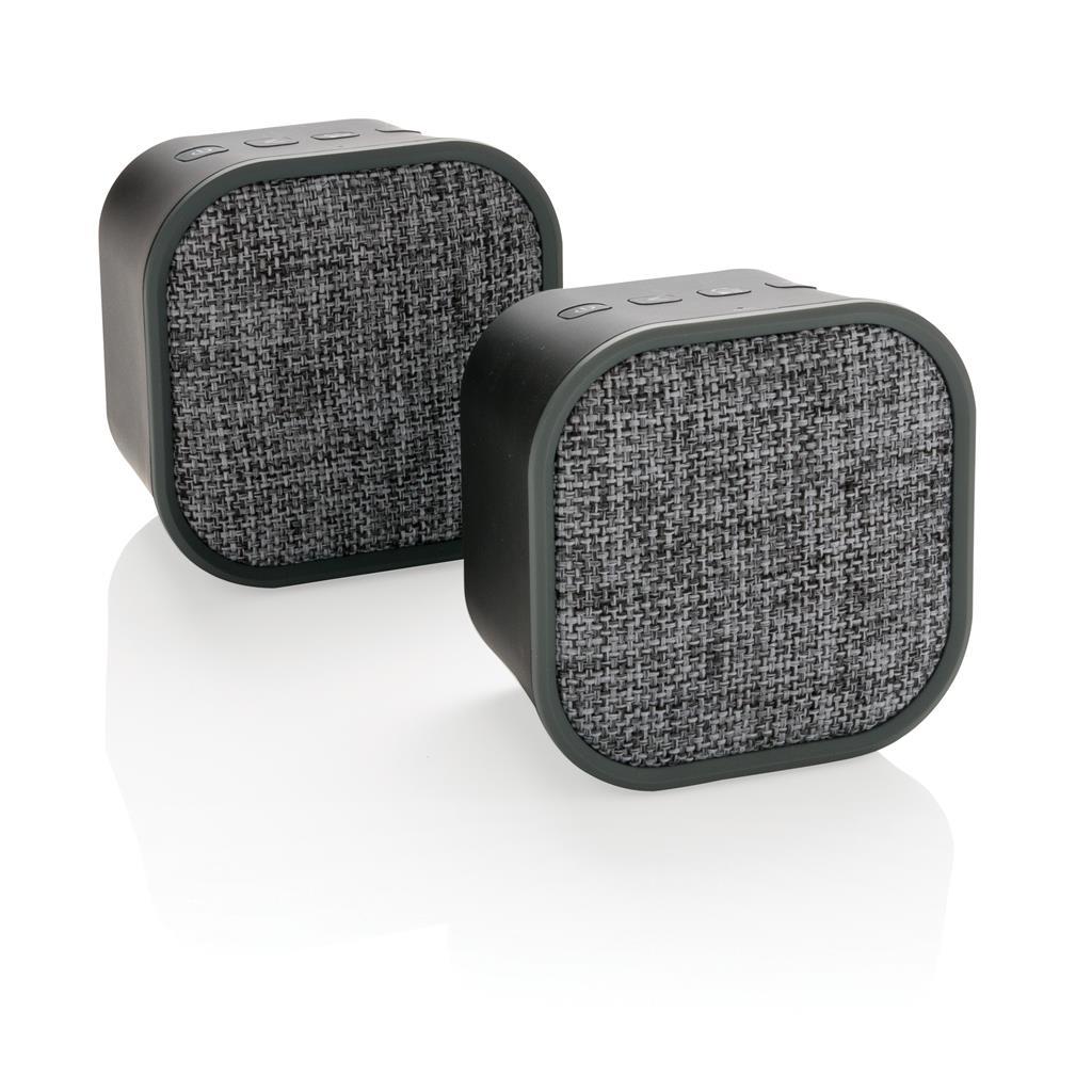 Kabelloser Doppel-Lautsprecher, schwarz