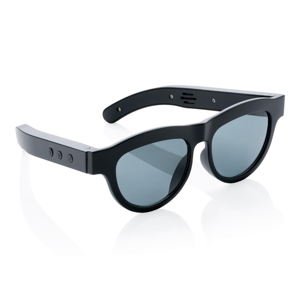 Sonnenbrille mit wireless Lautsprecher, schwarz