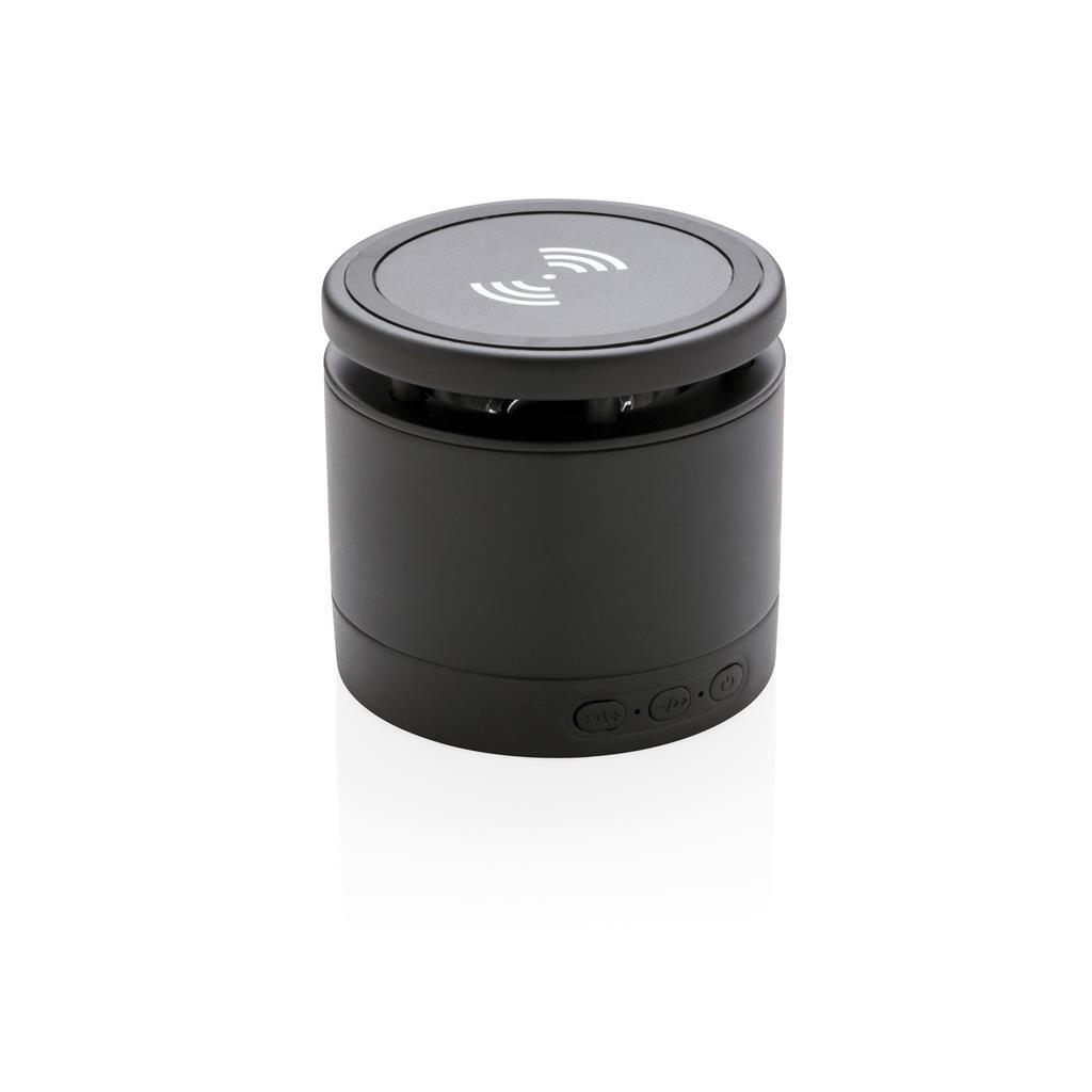 Wireless-Charger Lautsprecher, weiß