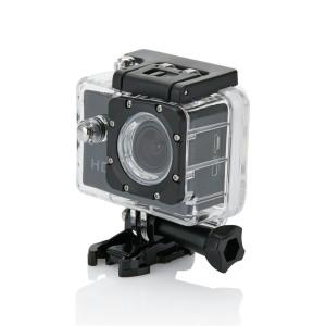 Action Kamera mit 11tlg. Zubehör, gelb