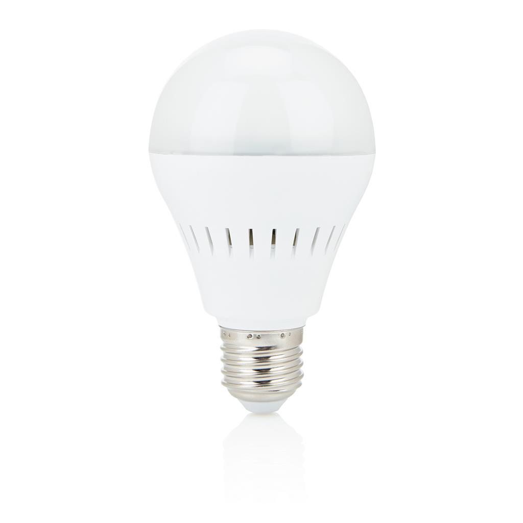 Smart Glühbirne mit BT Lautsprecher, weiß