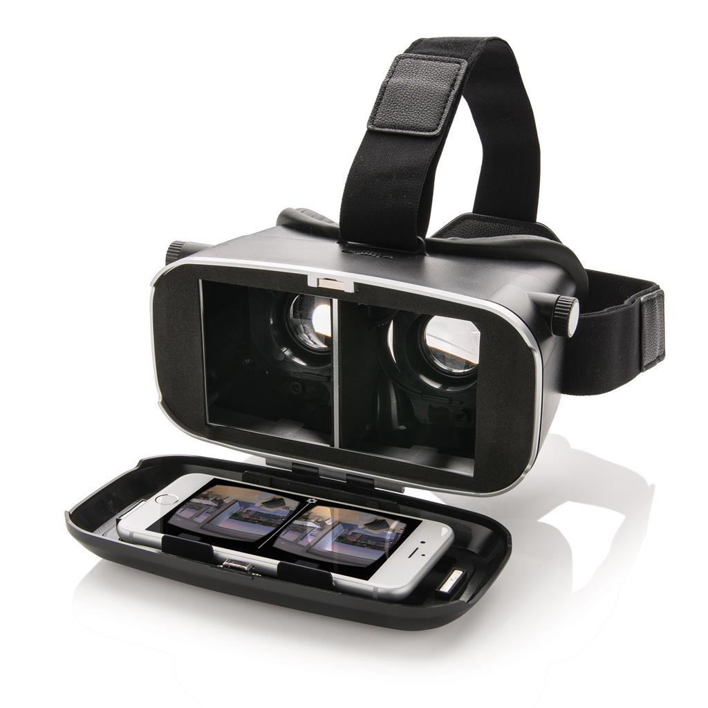 VR Brille 3D Box, schwarz