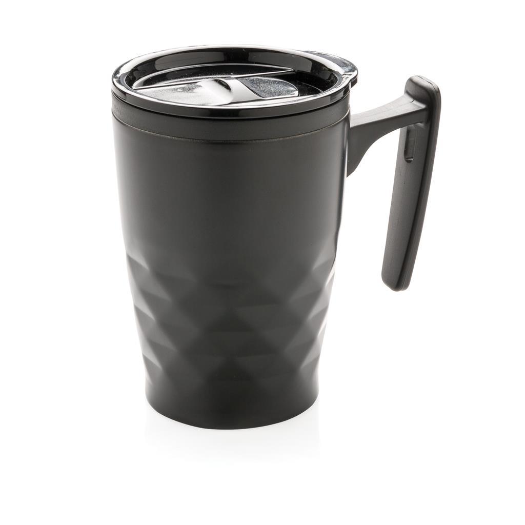 Geometrischer Kaffeebecher, rot
