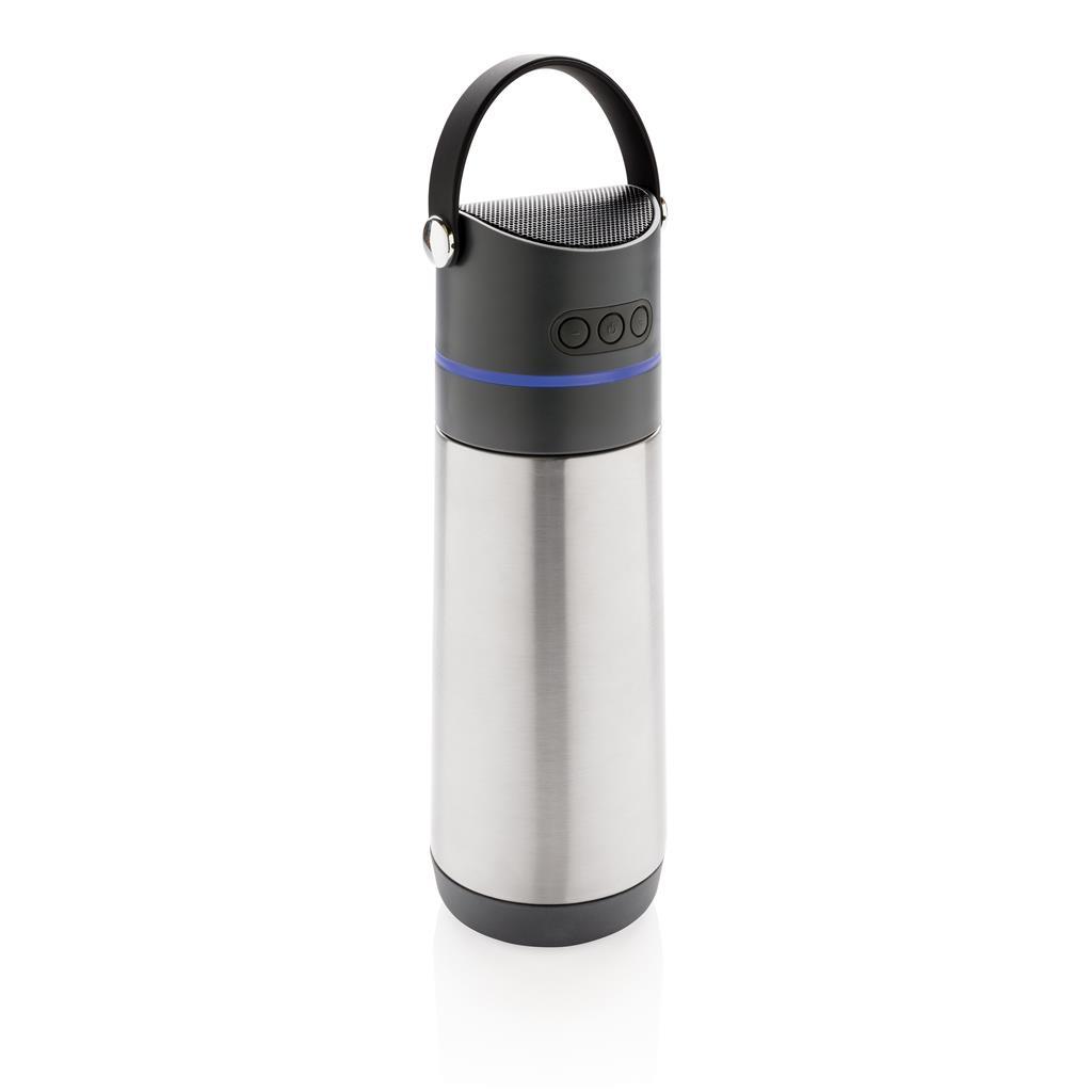 Party 3-in-1 Vakuum-Flasche, grau