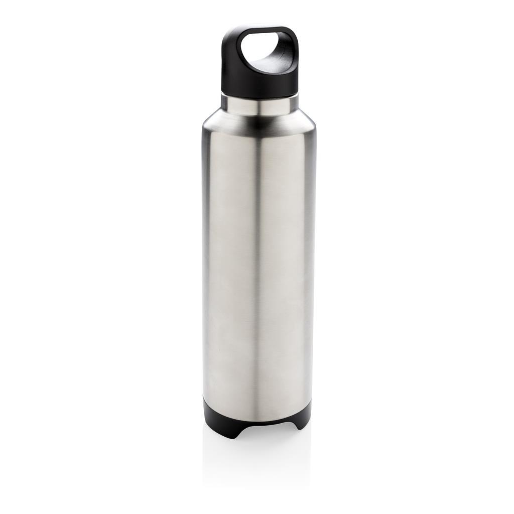 Vakuum Flasche mit Lautsprecher, grau