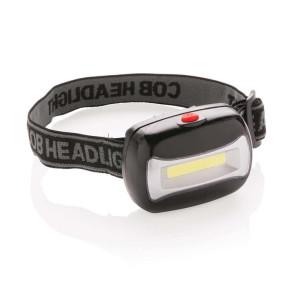 COB Kopflampe, schwarz