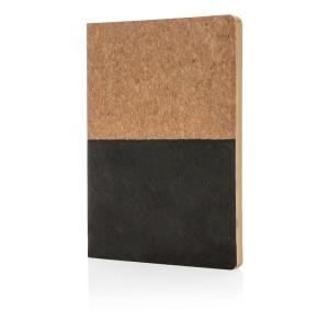 Notizbuch aus Kork, grün