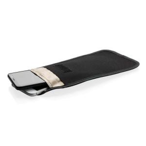 Telefon-Tasche mit Signalblocker, schwarz