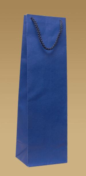 Ökologische Papiertüten für Wein mit einem textilen Ohr
