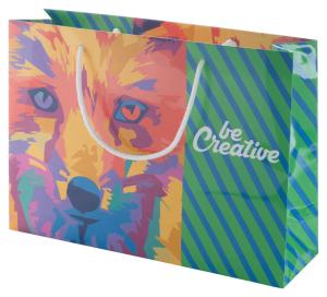 CreaShop H horizontale Papiereinkaufstasche auf Bestellung