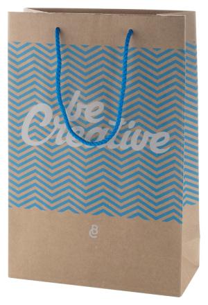 CreaShop M mittelgroße Papiertüte zum Bestellen