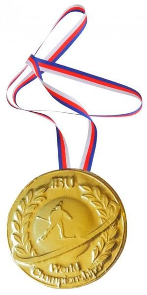 Medaille mit Druck oder Relief
