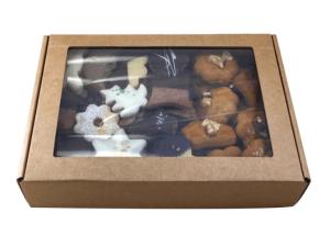Butterlebkuchen mit Walnuss, Karton