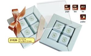 Werbe Praline Set 4x12,5g