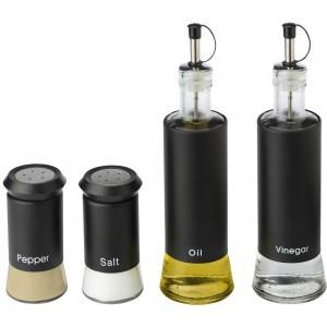 Gläser mit Öl / Essig