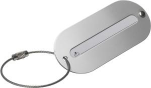 Aluminium Gepäckanhänger, Silber