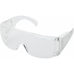 Transparent safety/fireworks glasses